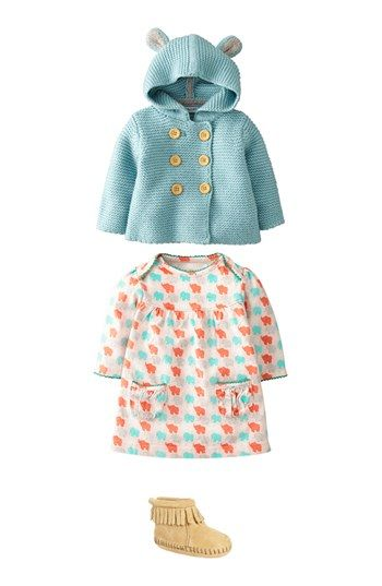 Mini Boden Jacket & Dress (Baby Girls)  available at #Nordstrom