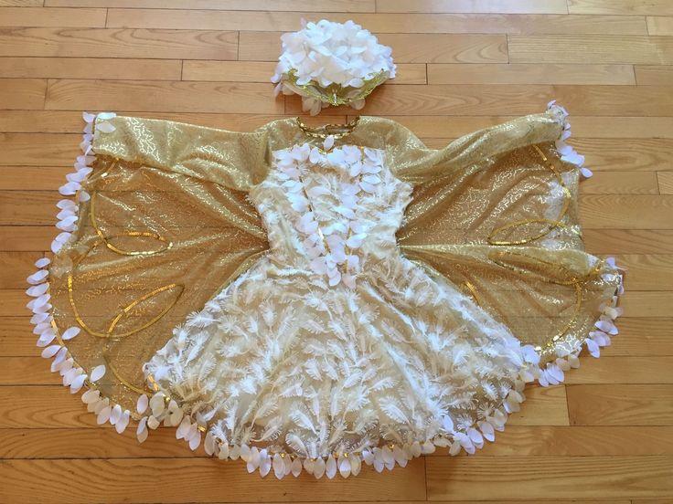 Chasing Fireflies Halloween costume snowy owl size 10