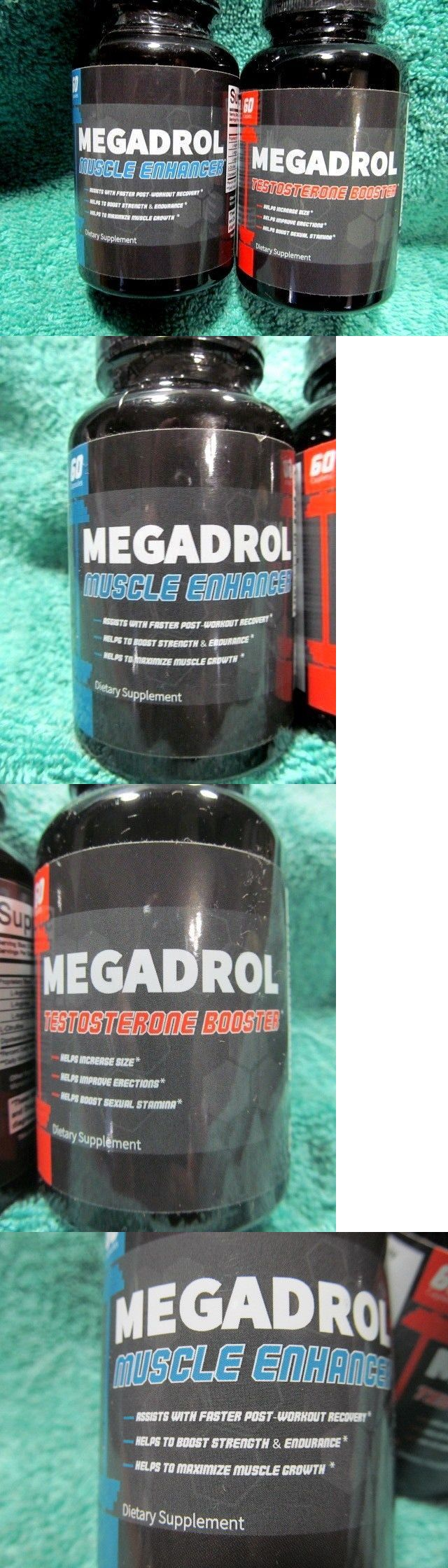 Sports Vitamins and Minerals: Megadrol Muscle Enhancer Builder And Natural Testosterone Booster Pre Workout 2018 BUY IT NOW ONLY: $49.99