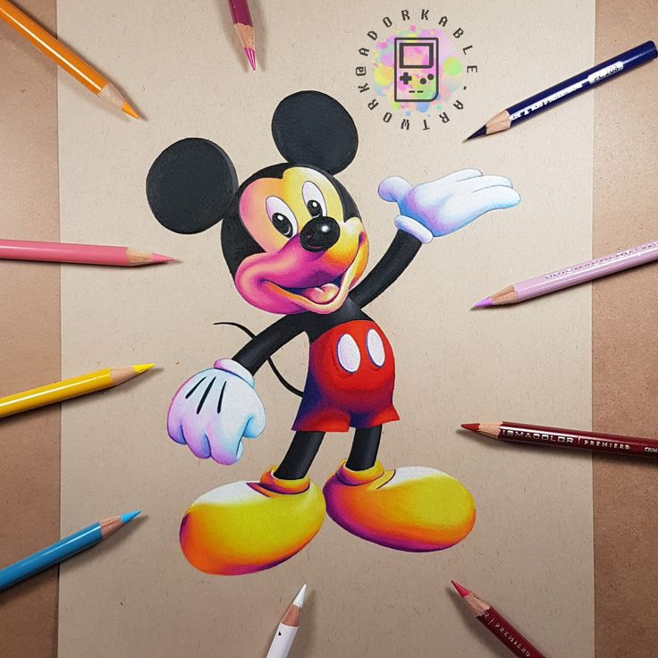 Mickey Mouse - signed print - Disney art