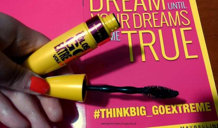 Sweety Reviews: Parliamo di... Go Extreme Maybelline #be_unexpected