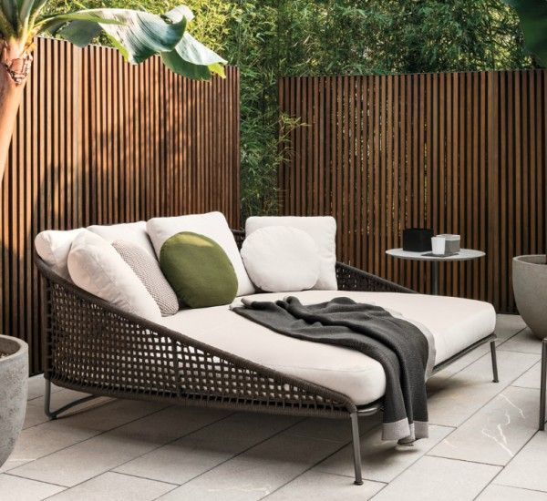 Aston Cord Loveseat Dormeuse Outdoor