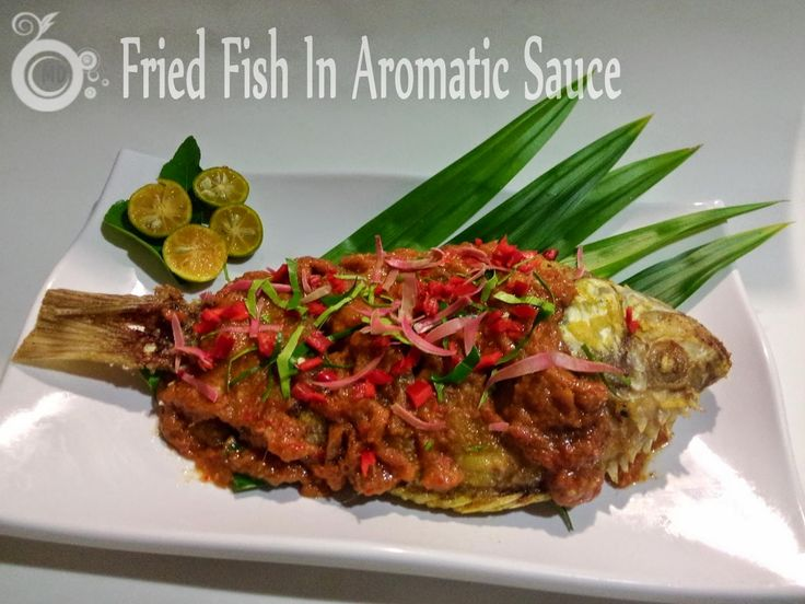 707 best malaysians sedap images on pinterest malaysian food malaysian delicacies fried fish in aromatic sauce forumfinder Gallery