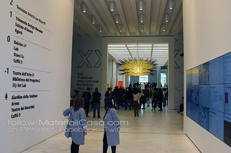 Let's go to discover the XXIth @triennaledesign   #MDW2016 #MCaroundSaloni #MilanDesignWeek