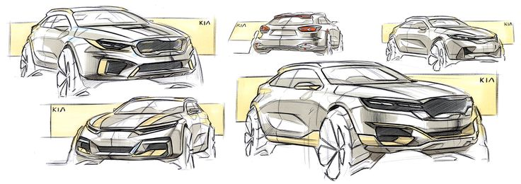 Daily Sketches & Render on Behance