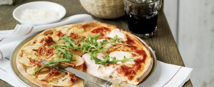 Homemade Pizzas   In Season: Winter   MiNDFOOD