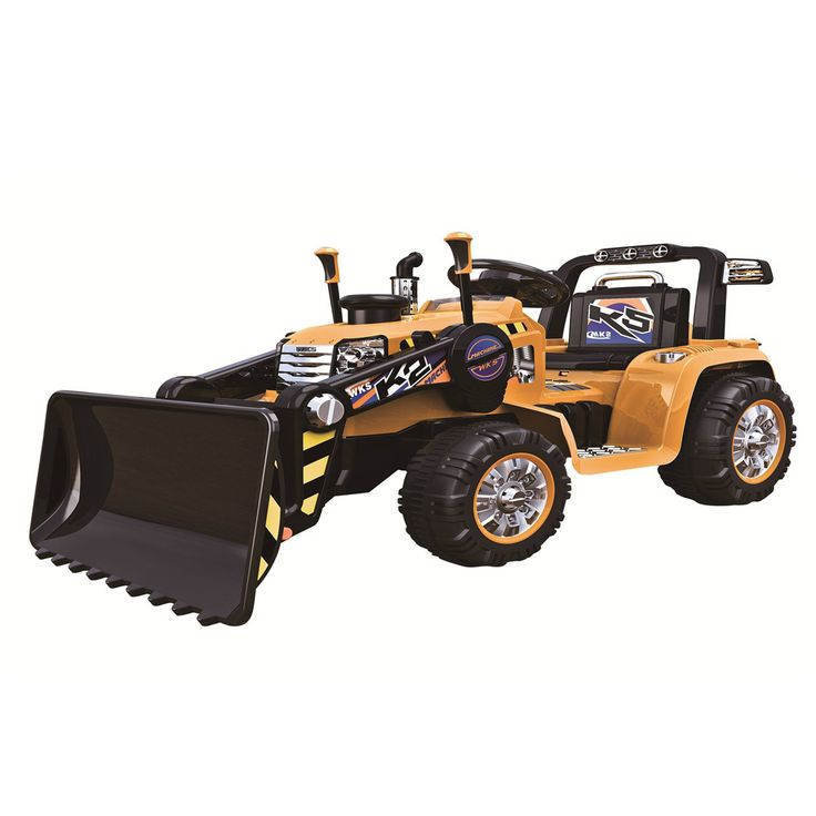 Kids ride on tractor battery powered ride on toy 12v for Best motorized ride on toys
