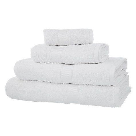Buy John Lewis The Basics Towels Online at johnlewis.com
