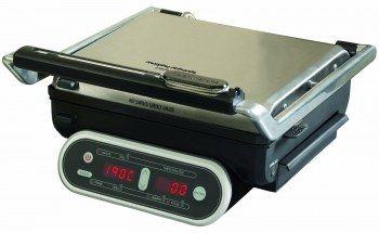 Griglia elettrica compatta Morphy Richards Intelligrill 48018 - La sonda di temperatura consente di monitorare con precisione la temperatura del cibo durante la cottura.