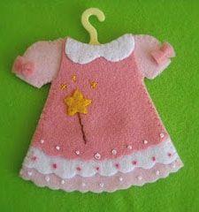 vestidinho de feltro