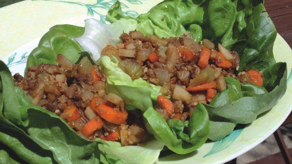 Lettuce Wraps, The China Study Cookbook