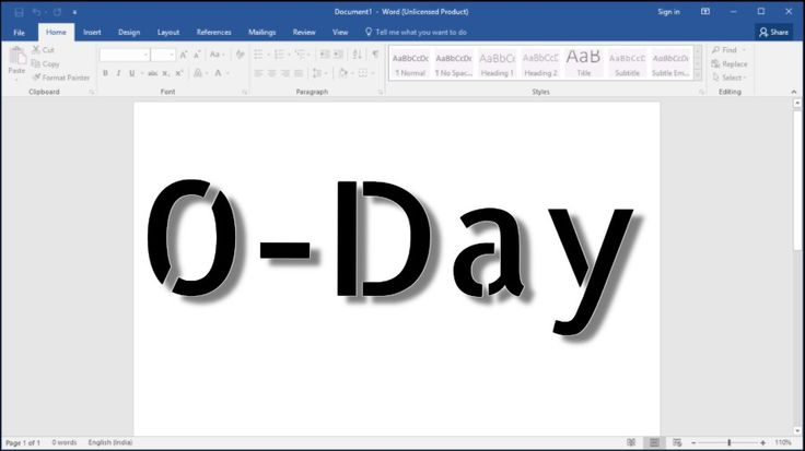 Unpatched For Years, MS Word Zero-Day Attacks Even If Your Windows Is Fully Updated  #TheHackerNews #news