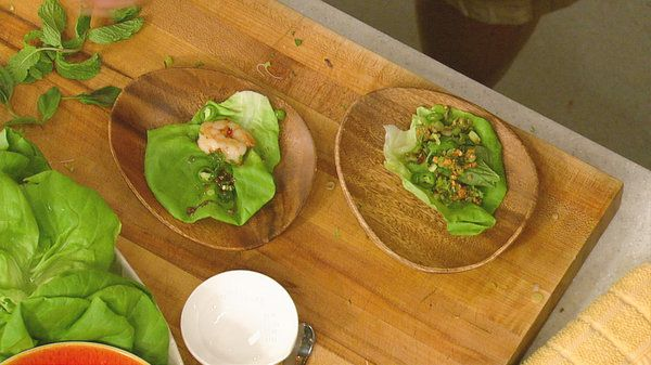 the chew | Recipe | Mario Batali's Vietnamese Shrimp Cups