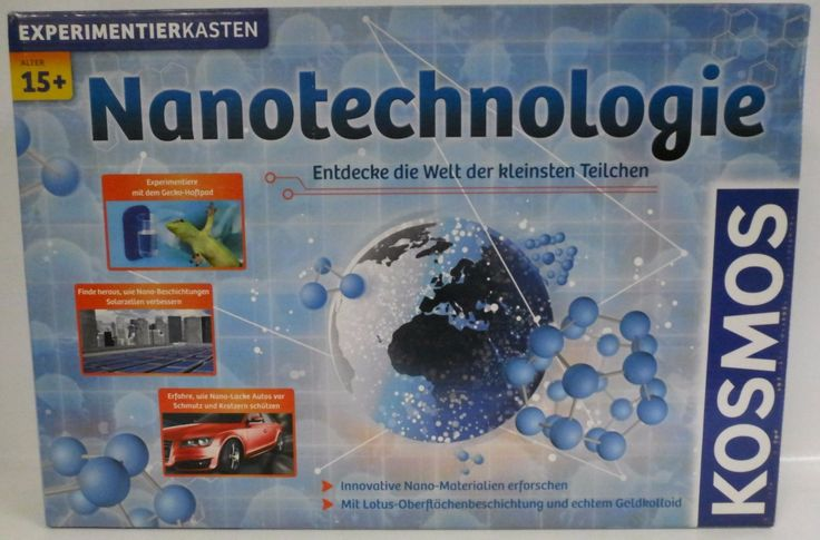 **NEU** KOSMOS 631727 Nanotechnologie - Experimentierkasten **OVP**