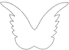 Bildergebnis für vorlagen für engelsflügel schablonen                                                                                                                                                                                 Mehr