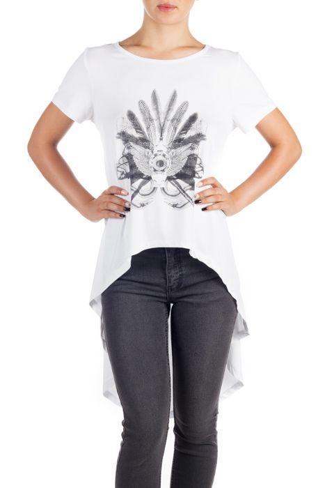 Tricou cu trenă Erika pentru femei Preț 139 lei Exclusiv pe http://superjeans.ro/branduri/superjeans-of-sweden/tricou-cu-trena-erika-pentru-femei.html