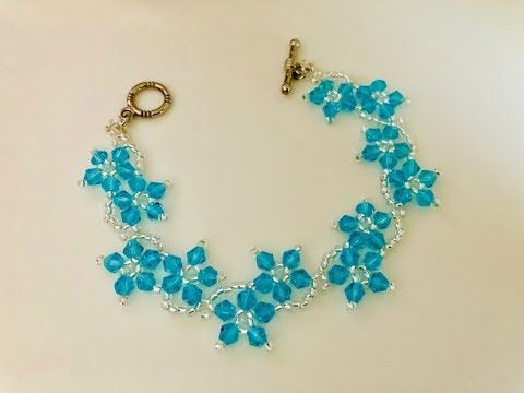 Blossom Beaded Bracelet or Necklace.DIY Beaded Bracelet – YouTube