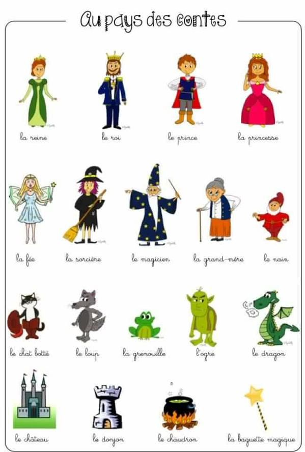 FrenchBook - Au pays des contes