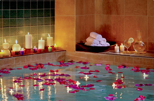 Healing Waters treatment at the Ritz Calton Spa in Dallas.