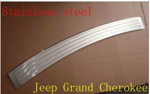 Заднего Бампера Протектор Подоконник пластины крышки Для Jeep Grand Cherokee 2011 2012