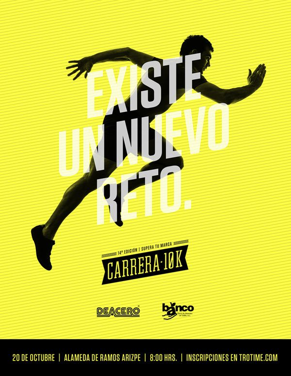 Carrera 10K DEACERO — by David Carmona, via Behance