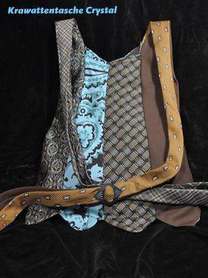 Krawattentasche - tie bag | upcyclingdesign.at