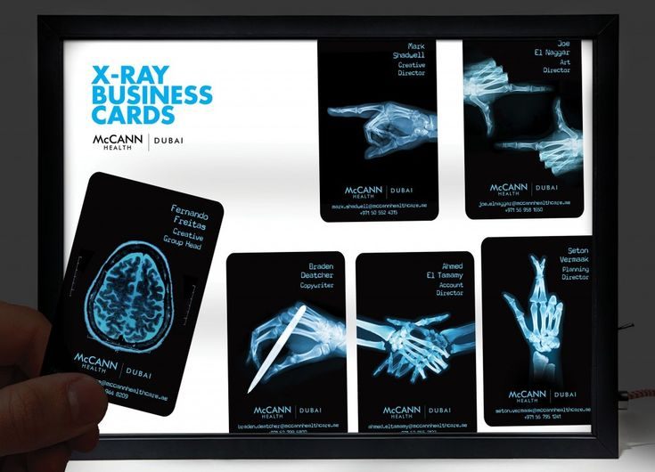 185 best transparent business cards arc reactions images on mccann health dubai x ray business cards adeevee reheart Gallery