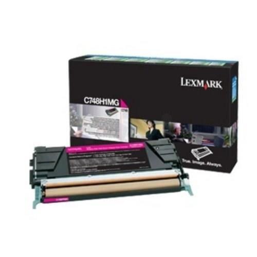 LEXMARK Cartouche de toner – C748 – 10.000 pages – Pack de 1 – Magenta