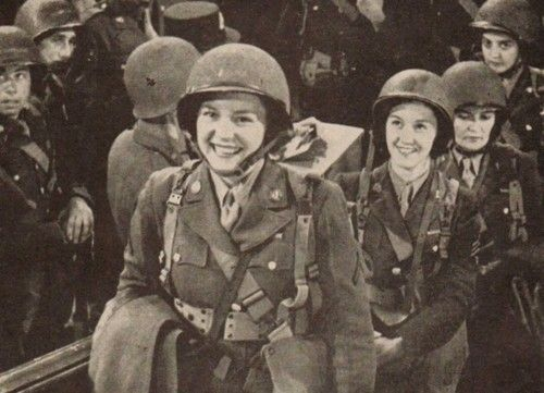 World War II Women Being Awesome. Absolutely beautiful women doing what their heart desires.