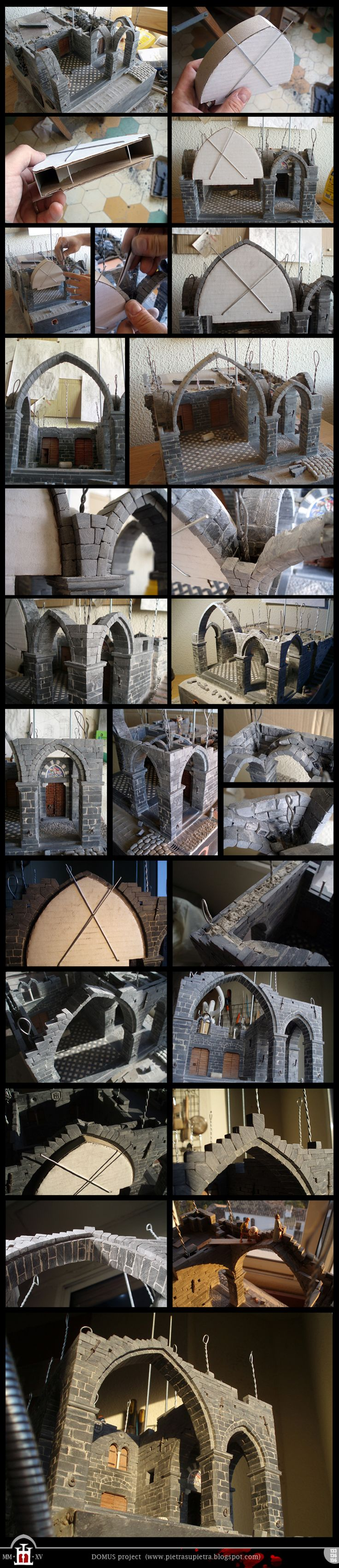 Domus project 133-136-156: Main arch of the loggia
