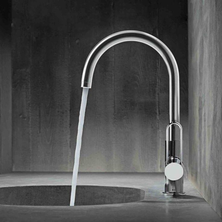 Superbe Hansgrohe Axor Uno: Die Waschtischarmatur überzeugt Durch Einen Vollen,  Weichen Strahl Durch Mit Luft Angereichertes Wasser (AirPower).