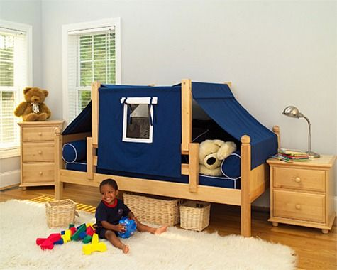 Maxtrix Kids Twin Daybed / Toddler Bed with Top Tent Bedroom Set - Maxtrix Bedroom Series - Toddler Beds - Nursery Furniture - Baby u0026 Kidsu0027 Furniture - ... & 16 best Bed Tents for Kids images on Pinterest | 3/4 beds Bed ...