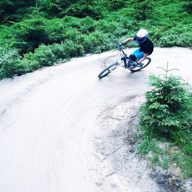 Trail biking at Geißkopf Park