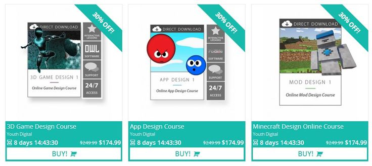 POPULAR Online Minecraft, 3D Design, and App Design Courses for 40% OFF! from @Educents Educational Products