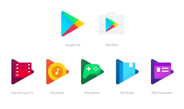 No need to blink twice -- it's not just you. Google Play is updating its icons today for a rounder look with brighter colors that's more fitting with the r