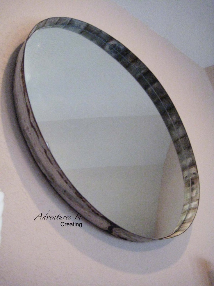 1000 images about circle mirror bathroom on pinterest for Small round craft mirrors