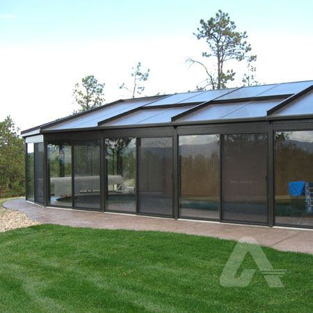Bronze Multiwall Polycarbonate Pool Enclosure Multiwall