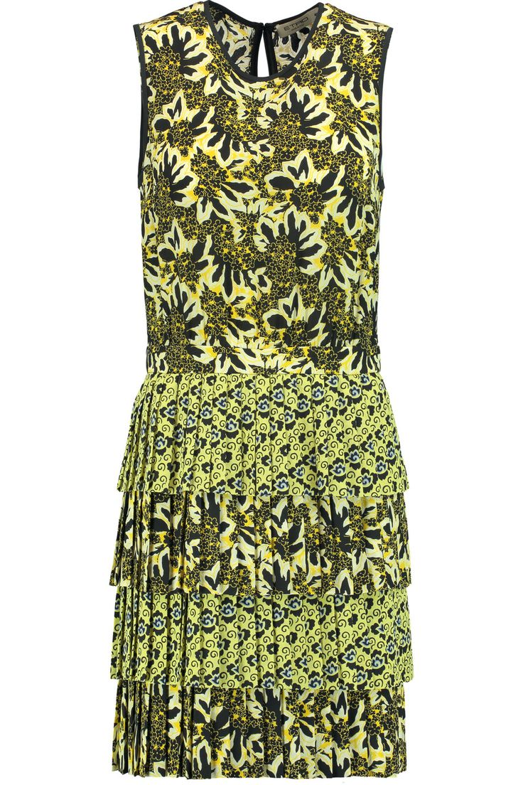 EtroFloral-print silk-crepe mini dress