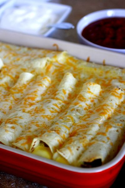 Breakfast Enchiladas. Make the night before - so perfect for busy mornings!