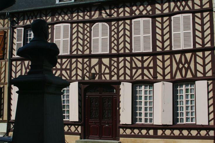 Breteuil-60- Maison d'Hippolyte Bayard. - Images de Picardie inventeur de la photographie sur papier
