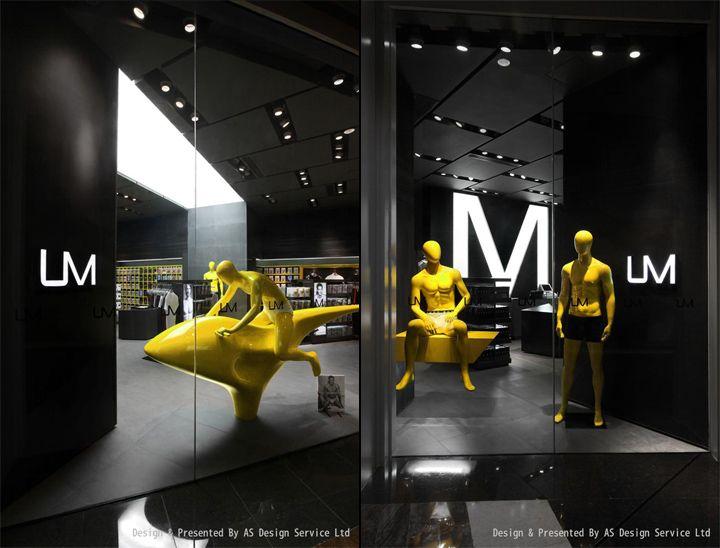 UM men's underwear store by AS Design, Shenzhen » Retail Design Blog
