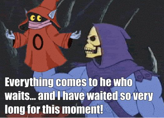 For when your main course finally arrives at the restaurant: | The 25 Most Inspiring Skeletor Quotes For Every Occasion