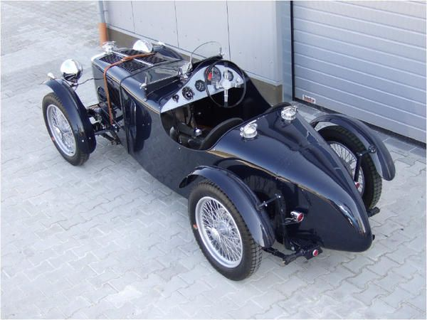 1936 mg ta q type special mg pre war old sports cars. Black Bedroom Furniture Sets. Home Design Ideas