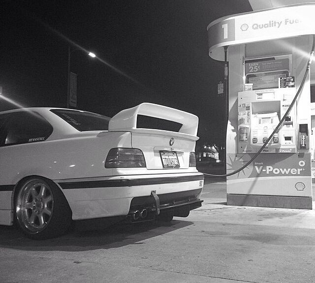 Bmw Xdrive Meaning: Feeding The Beast: Alpine White BMW E36 Coupe On BBS EB372