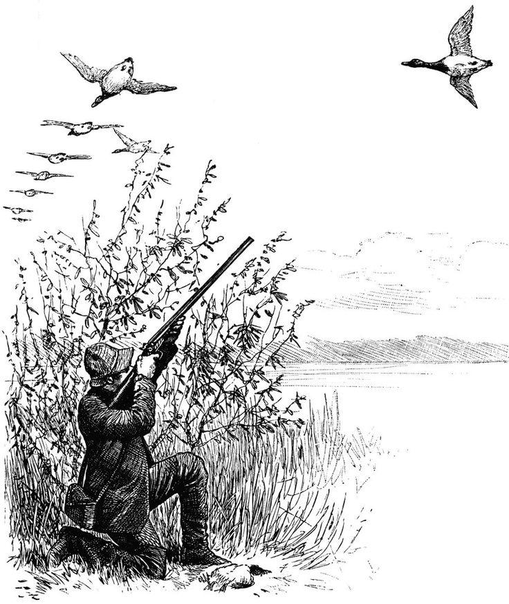 Картинки для выжигания рыбалка охота