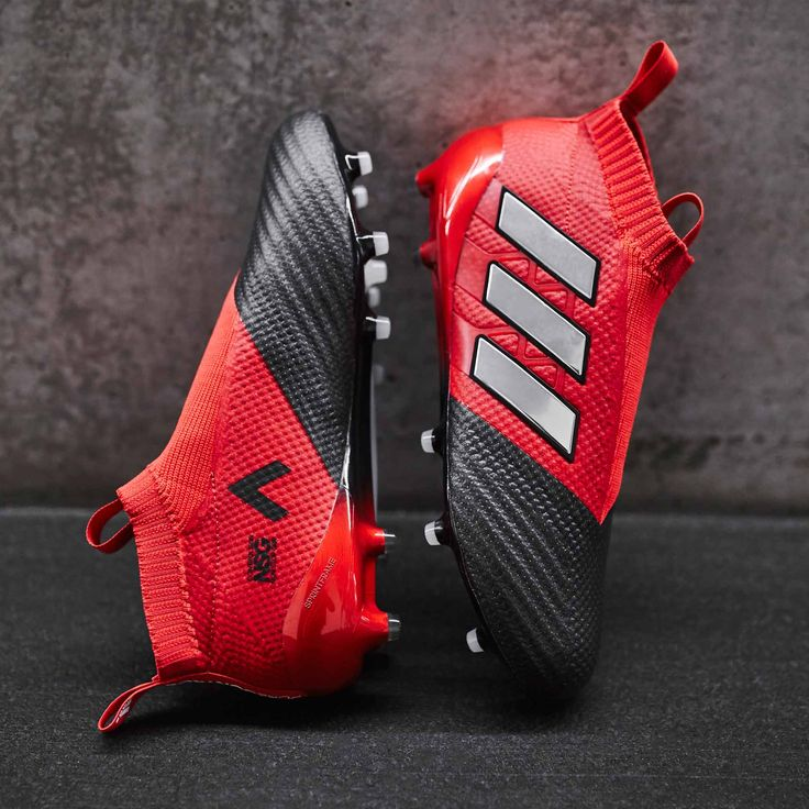 Messi Shoes Red White No Laces