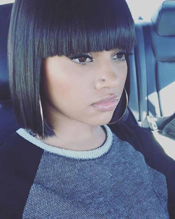 Blunt Cut Weave Cap: 147 Best Straight Hair Hairstyle Images On Pinterest