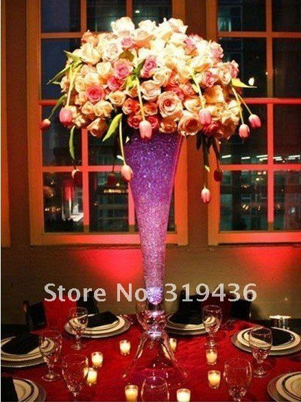 109 best sweet 16 masquerade ball images on pinterest candy glassware vase filler using clear crystal water beads for cut flower arrangement on aliexpress centerpiece decorationswedding junglespirit Images