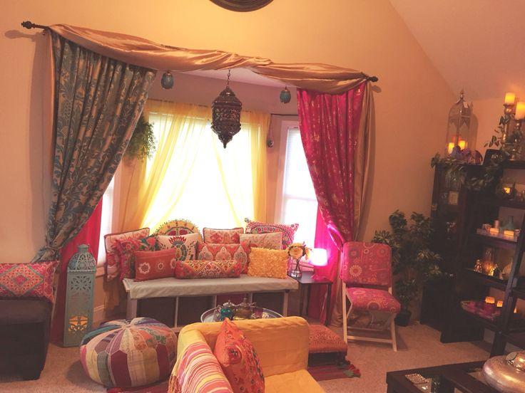 #boho #bohemian #morrocan #colorful @pier1imports @homegoods