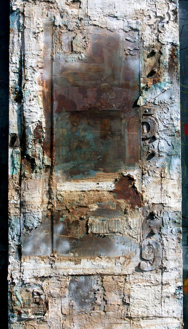 160x80 art by Sonja Bittlinger Metall auf Holzplatte